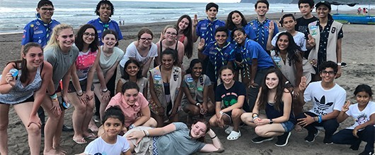 Girl Scouts travel to Costa Rica