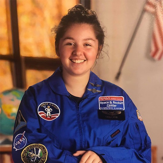 Girl Scout STEM Program Inspires girl to attend NASA Space Camp