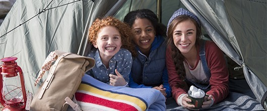 Girl Scouts in the Heart of Pennsylvania Camping: outdoor activities, camping overnight, hiking, boats, swimming, campground rentals