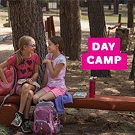 Enjoy camping without staying overnight at one of our many fun Day Camps!