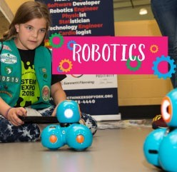 STEAM Mobile robotics: learn how to code and make robots move
