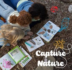 STEAM Mobile Program: Nature art—let the outdoors be your inspiration as you design and create art!