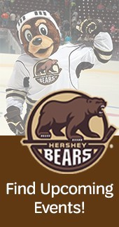 Hershey Bears Right Rail Ad